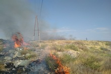 Firefighters extinguished fires broken out in the area of about 2․2 հa in total