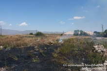 Firefighters extinguished fires broken out in the area of about 20.2 հa in total