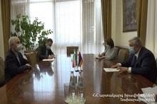 Феликс Цолакян встретился с новоназначенным послом Ирана: перспективы сотрудничества с четкими шагами