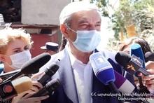 Взрыв в доме N1 на улице Райниса, есть 2 погибших и 1 пострадавший: на месте происшествия находились премьер-министр РА Никол Пашинян и министр по ЧС Феликс Цолакян