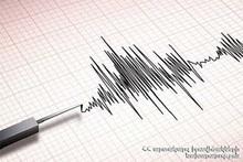 Землетрясение в 8 км к югу от села Ашоцк