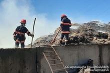Пожар в селе Камо: пострадавших нет