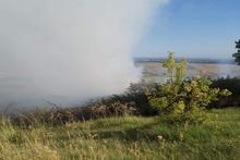 Пожар в селе Джрашен: сгорело около 10 га травяного покрова