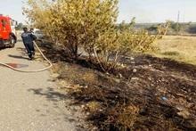 Пожарные-спасатели потушили пожары на территории общей площадью 9.09 га