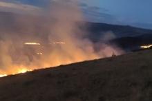 Զարինջա, Ձիթհանքով և Սարակապ գյուղերի սահմանագծում այրվել է խոտածածկ տարածք