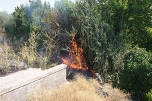 Firefighters extinguished fires broken out in the area of about 10.28 հa in total