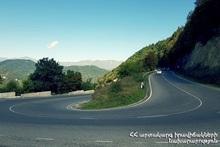 В Армении автодороги проходимы: закрыта автодорога Фиолетово-Дилижан