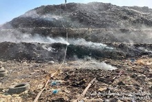 Fire in Nubarashen landfill was extinguished. patrolling was implemented