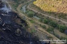За неделю было зарегистрировано 95 пожаров на травяных участках Еревана и регионов РА