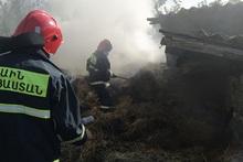 Այրվել է մոտ 70 հակ անասնակեր