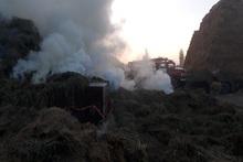 Մյասնիկյան գյուղում այրվել է անասնակեր