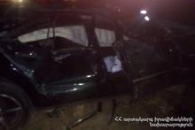 ДТП на автодороге Егвард-Нор Гехи: есть пострадавший