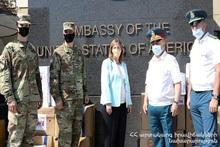 Сотрудничество между МЧС РА и посольством США продолжается