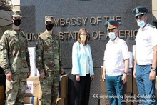 The cooperation between the ES Ministry of RA and U.S. Embassy continues