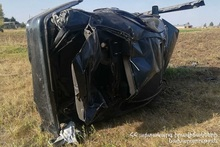 RTA near Marmashen village: there was a casualty