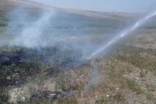 Пожарные-спасатели потушили пожары на территории общей площадью 9400 кв. м