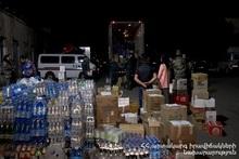 Министерство по ЧС везет в Арцах гуманитарную помощь