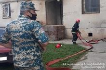 Взрыв в городе Артик: есть пострадавший