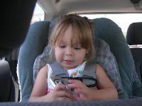 Երեխան ավտոմեքենայում