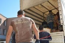 Спасатели МЧС находятся в Арцахе