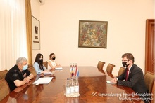 ES Minister hosted the Ambassador of the Kingdom of the Netherlands