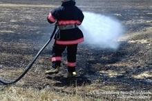 Пожарные-спасатели потушили пожары на территории общей площадью 66.1 га