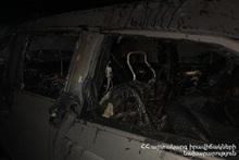 Пожар в гараже: пострадавших нет