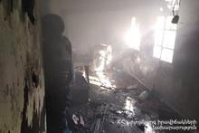 Fire in Choratan village