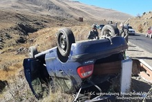 RTA on Sisian-Yerevan roadway: there was a casualty