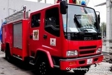 Fire in Sisian town