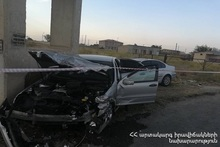 RTA on Etchmiadzin-Margara roadway
