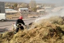 Գեղհովիտ գյուղում այրվել է անասնակեր