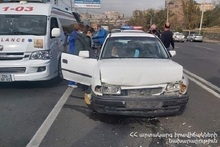 RTA on Leningradyan street: there was a casualty