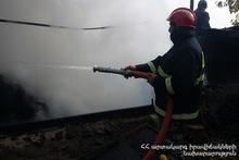 Пожар в селе Техеник