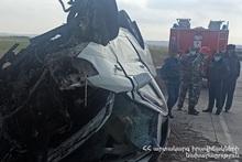 ДТП на автодороге Гюмри-Ереван: есть погибший