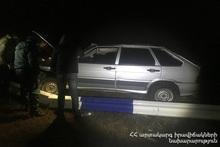ДТП на автодороге Гндеваз-Джермук: пострадавших нет