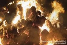 В селе Гетап сгорело около 250 тюков сена