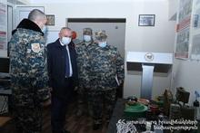Министр по ЧС совершил рабочий визит