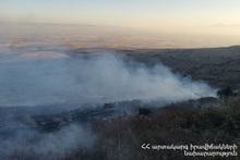 About 3 ha of vegetation burnt