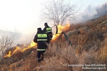 About 6 ha of vegetation burnt