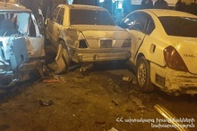 RTA in Gyumri town: there were casualties