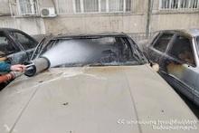 Пожар на улице Церенца: сгорели автомобили