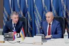 Ministers of Emergency Situations of Armenia and Russia discussed the process of humanitarian programs implemented in Artsakh