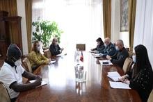 Անդրանիկ Փիլոյանն  ընդունել է Հայաստանում ՄԱԿ-ի Մանկական հիմնադրամի ներկայացուցչին