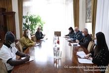 Andranik Piloyan hosted the representative of the UN Children's Fund in Armenia