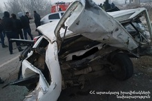 RTA on Yerevan-Yeraskh roadway: there was a casualty