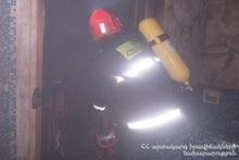 Пожарные-спасатели потушили  пожар, вспыхнувший в гостевом доме