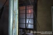 Вызов о пожаре на улице Вантяна: 9 граждан были эвакуированы