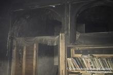 Пожар в городе Арташат