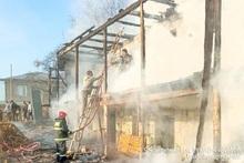 Fire in Norashen village